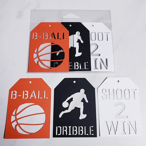 Basketball Deluxe Word Tags