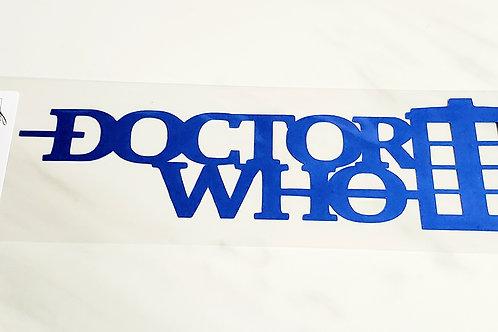 Doctor Who Scrapbook Deluxe Die Cut