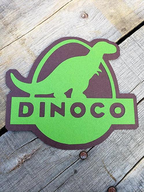 Dinoco Paper Piecing Die Cut