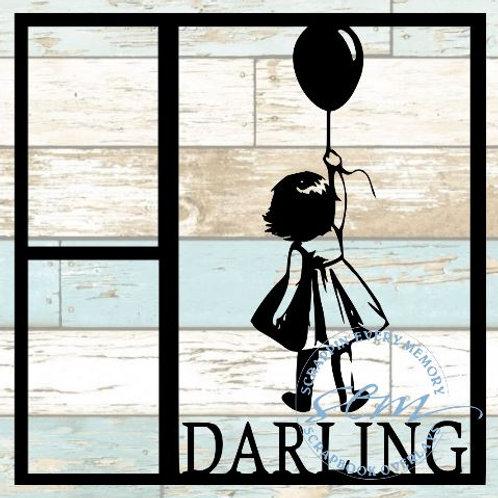 Darling Scrapbook Overlay