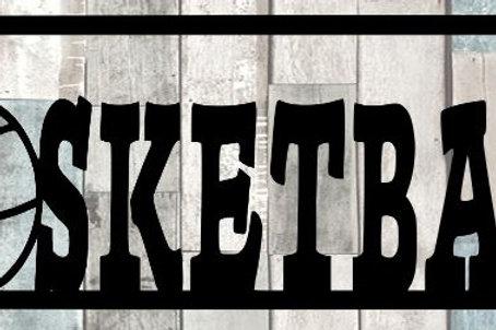 Basketball Scrapbook Title
