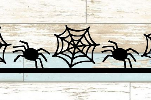 Spiders & Spiderweb Scrapbook Border