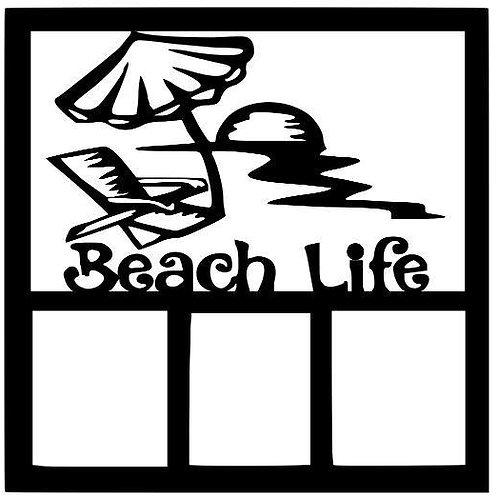 Beach Life Scrapbook Overlay
