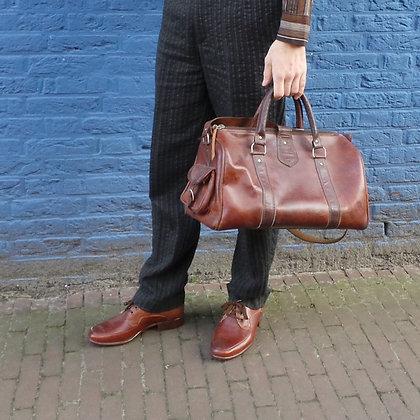 Lederen schoenen bruin 42