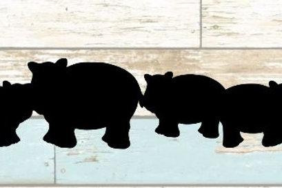 Hippo Scrapbook Border