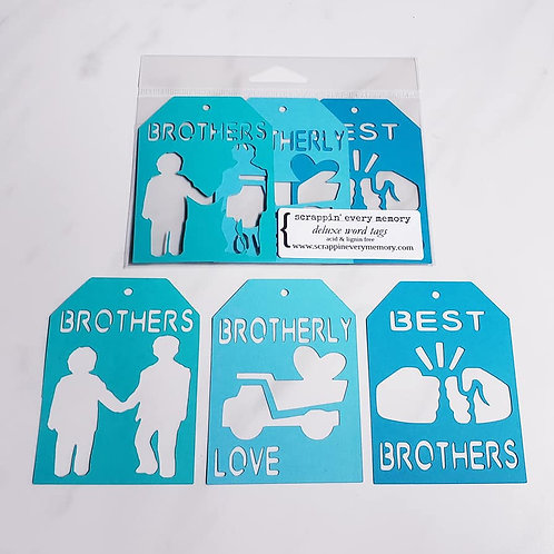 Brothers Deluxe Word Tags