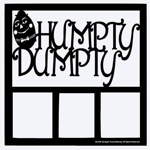 Humpty Dumpty Scrapbook Overlay