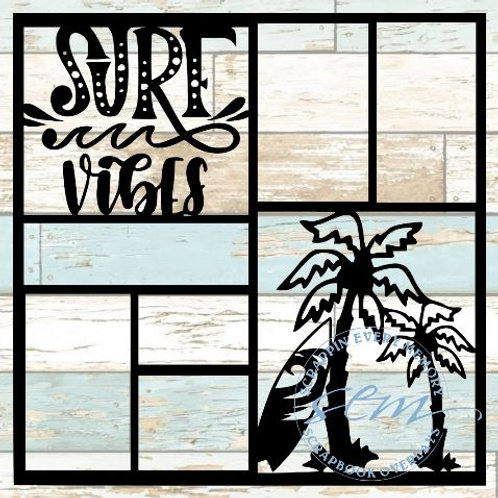 Surf Vibes Scrapbook Overlay