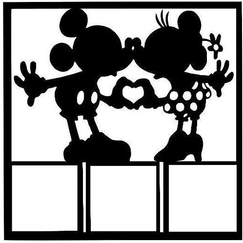 Mickey & Minnie Scrapbook Overlay