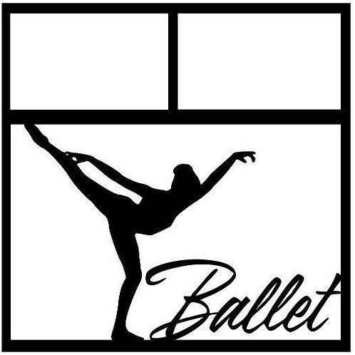 Ballet Scrapbook Overlay