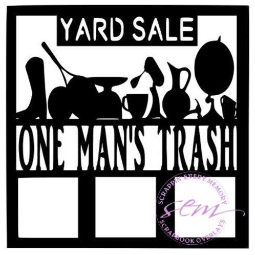 One Man's Trash Scrapbook Overlay