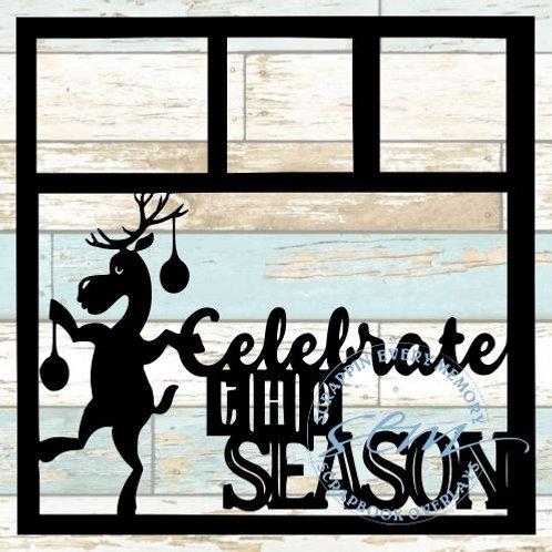 Celebrate The Season Scrapbook Overlay
