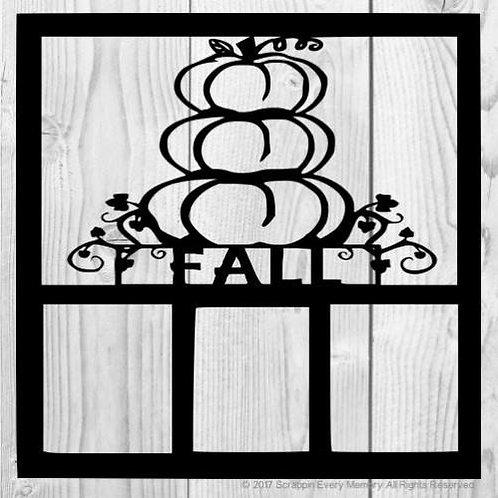 Fall Scrapbook Overlay