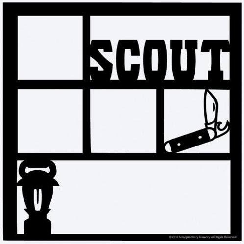 Scout Scrapbook Overlay