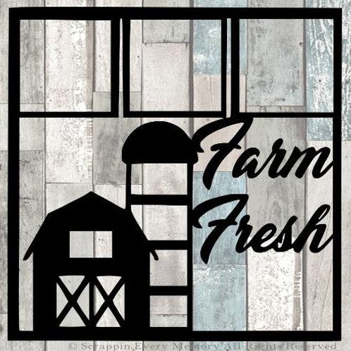 Farm Fresh Scrapbook Overlay