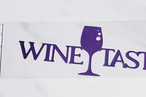 Wine Tasting Scrapbook Deluxe Die Cut