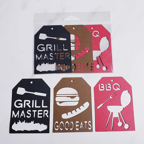 Cookout Deluxe Word Tags