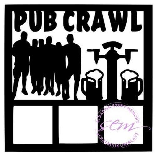 Pub Crawl Scrapbook Overlay