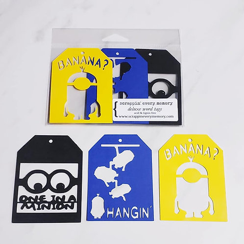 Minions Deluxe Word Tags