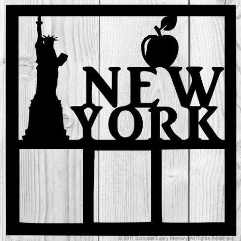 New York Scrapbook Overlay