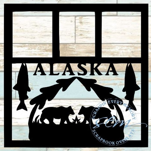 Alaska Scrapbook Overlay