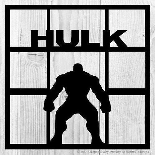 Hulk Scrapbook Overlay
