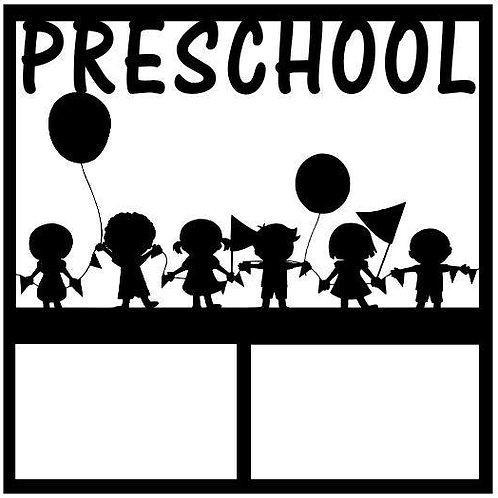Preschool Scrapbook Overlay