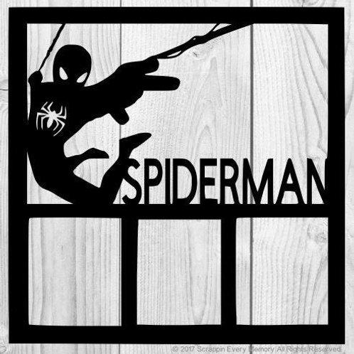 Spiderman Scrapbook Overlay