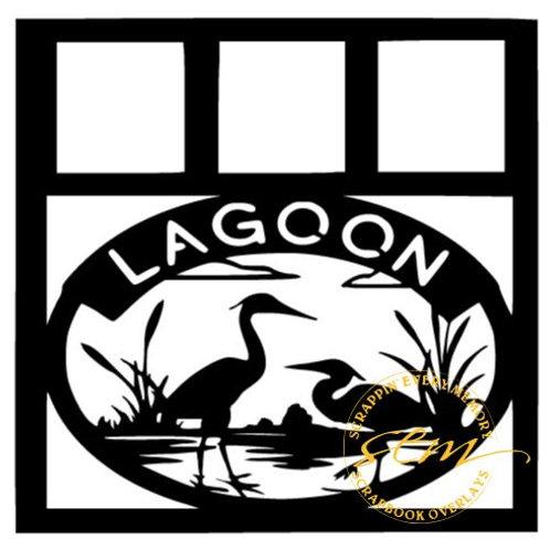 Lagoon Scrapbook Overlay