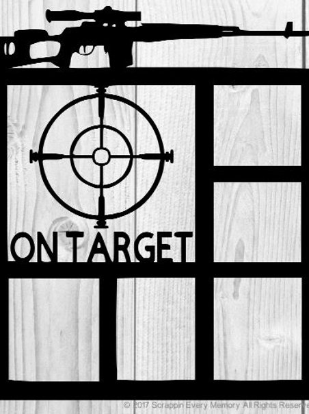 On Target Scrapbook Overlay