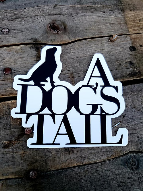 A Dog's Tail Paper Piecing Die Cut