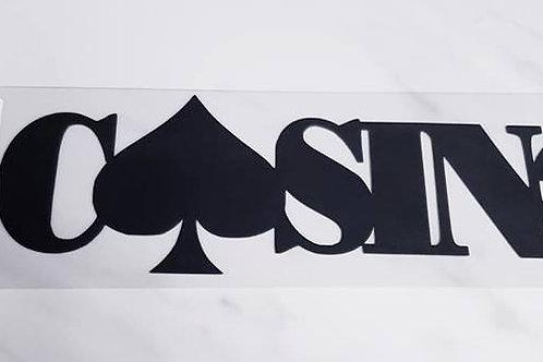 Casino Scrapbook Deluxe Die Cut