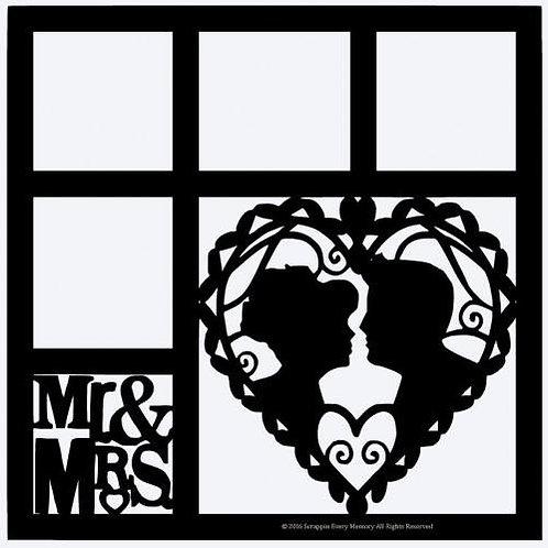 Mr & Mrs Scrapbook Overlay