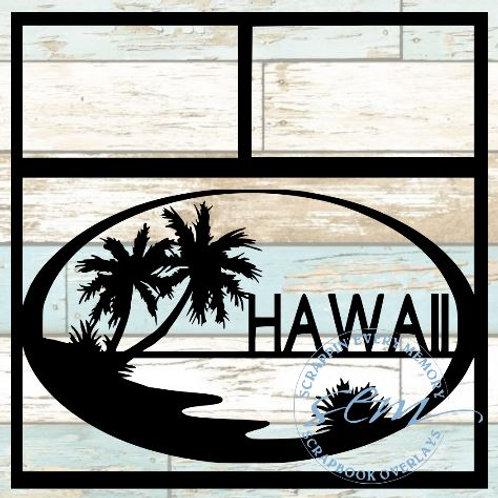 Hawaii Scrapbook Overlay