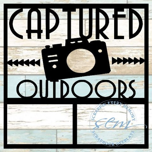 Captured Outdoors Scrapbook Overlay