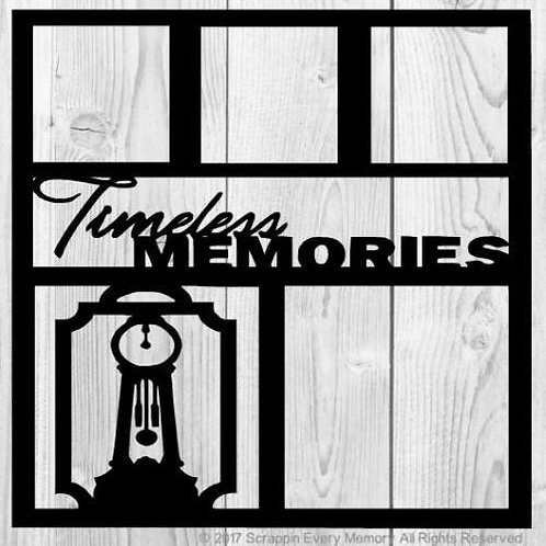 Timeless Memories Scrapbook Overlay