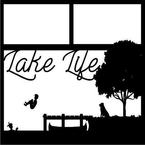 Lake Life Scrapbook Overlay