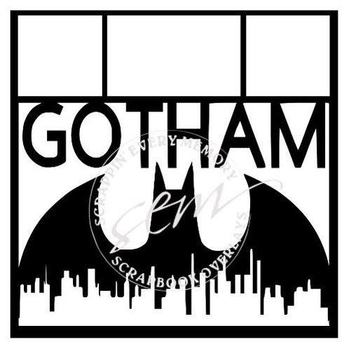 Gotham Scrapbook Overlay
