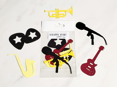 Instruments Die Cut Silhouette Mini Set