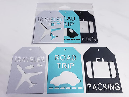 Traveling Deluxe Word Tags