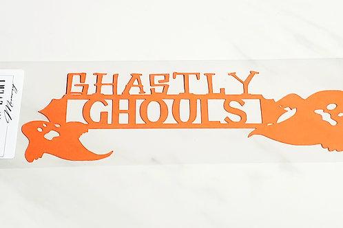 Ghastly Ghouls Scrapbook Deluxe Die Cut