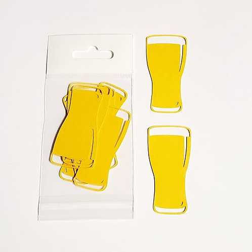 Beer Glasses Itsy Bitsy Embellishments