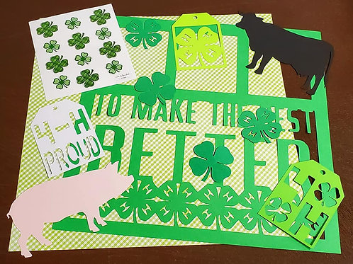 To Make The Best Better Scrapbook Page Kits