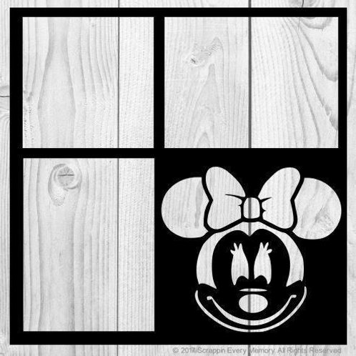 Minnie Mouse Scrapbook Overlay