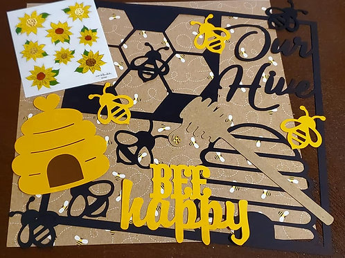 Our Hive Scrapbook Page Kits
