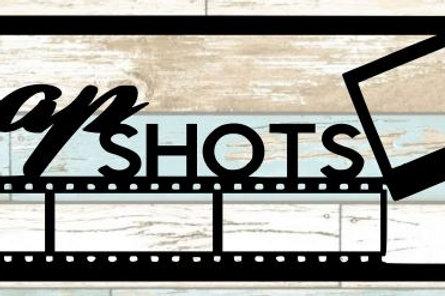 Snap Shots Scrapbook Title