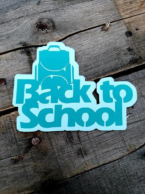 Back To School Paper Piecing Die Cut