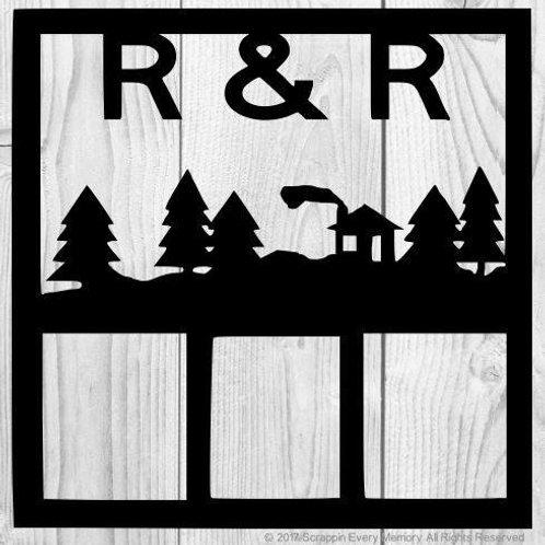 R & R Scrapbook Overlay