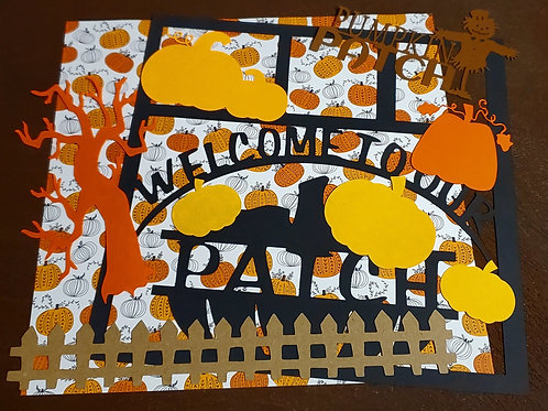 Welcome To Our Patch Scrapbook Page Kits