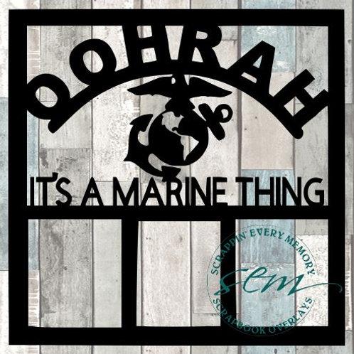 Oohrah Scrapbook Overlay